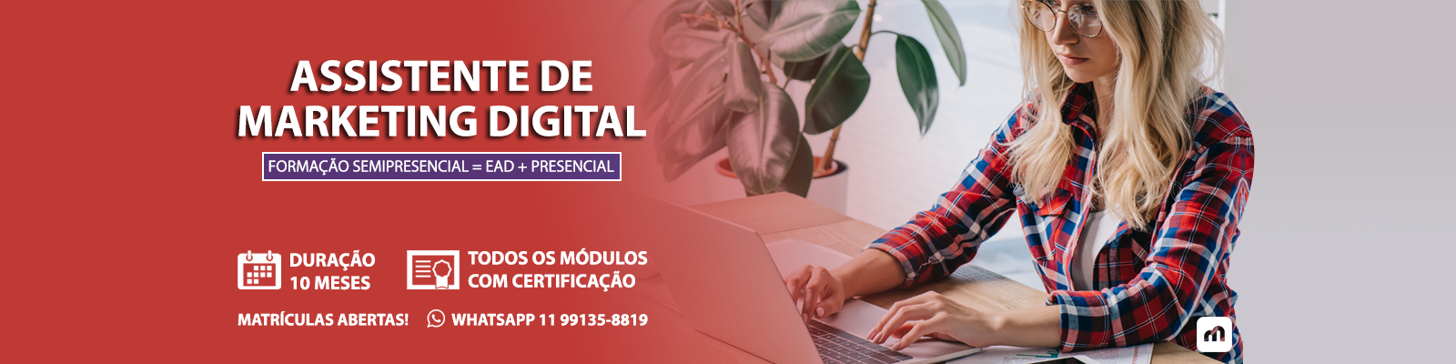 Curso de Marketing Digital Microlins Mogi das Cruzes